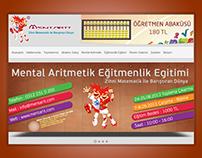 Mentarit Mental Aritmetik Kurumsal Web Sitesi