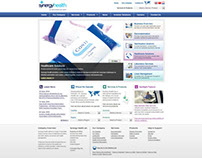 Home Page Redesign for Healthcare Website
