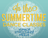 Flyer - In The Summertime Dance Classes
