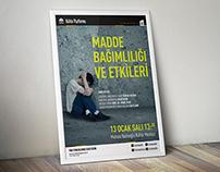 Sultanbeyli Belediyesi Madde Bağımlılığı Posteri
