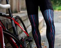 Circulatory system legwarmers for cyclist