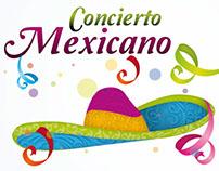 Cartel Concierto Mexicano