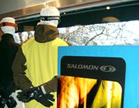 Salomon Retail Display - Cole Sport