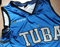 TUBA Basketball Uniform