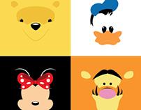 Minimalistic Disney Series