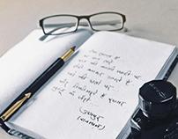 campaign on parker pen