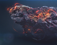 Burning Rock - Animation