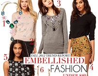 Shopping Guide: Embellished Fashion