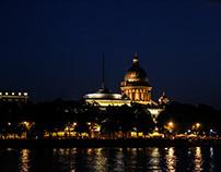 One night in St.Petersburg