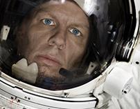 Cosmonaut (self-portrait)