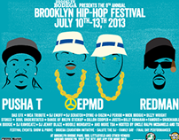 2013 Brooklyn Hip-Hop Festival: Main Artwork