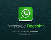 WhatsApp - Redesign Concept Proposal