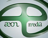 Aeon Media Logo Design