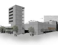 Sport center and student's residence · Barcelona, Spain