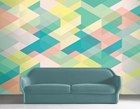 GRAPHIC WALLPAPERS // GRAFISKE TAPETER