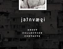 Логотип Jafnvaegi, веб-сайт