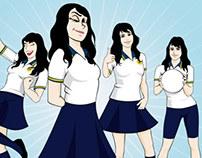 Pumahue & Manquecura Schools Characters