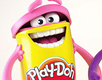 CHARACTER DESIGN PLAY-DOH