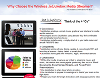 JetJukeBox Email Campaign for Flight Display Systems