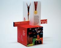 Olympic Kiosk - 3-D Design