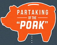 "Partaking of the ""Pork"" Infographics"