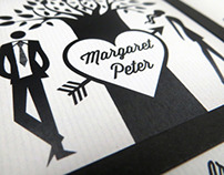 Wedding System: Peter + Margaret