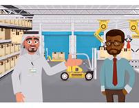 فيديو كرتوني توضيحي - دليل الشارقه الصناعي