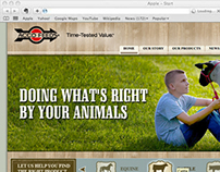 Acco Feeds Website Deisgn