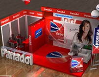 Panadol booth
