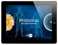 App sobre Miotomas