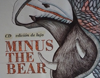 Minus The Bear. Cd Edición especial