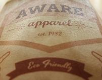 Aware Apparel Branding