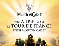 Vivre le Tour de France de 2013 grâce à Mouton Cadet.
