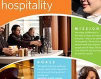 Hyatt International: Mission & Goals Poster