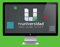 TV Universidad UNLP - Branding