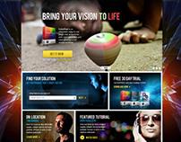 NewBlue FX Site Design