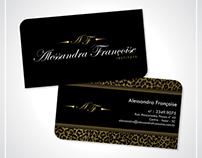 Alessandra Françoise Institute - Cartão de Visita