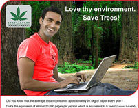 Mailer-EnvironmentDay-Save Tree