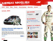 Andreas Mikkelsen – Professional rally driver blog
