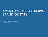 American Express Serve Brand Guidelines