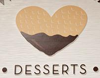 Sweet Treat, food court logo