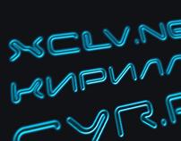 Xclv.Neon Pro Cyrillic