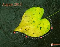 August 2013 Wallpaper Calender