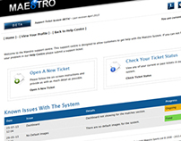 Online Support Ticket System