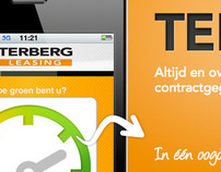 Mini site Terberg Leasing App