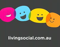 TV, Cinema & Radio campaign for LivingSocial Australia.