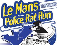 Le Mans Police Rat Race