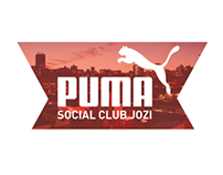 Puma Social Club Jozi - Web Design