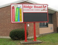 Ridge Road: Commercial Electronic LED Sign