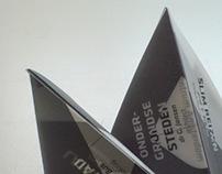 Folding Affiche 'Ruimte' ('Space')